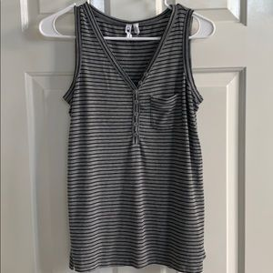 Cable & Gauge Striped Tank